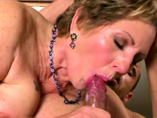 Stud fucks a granny and cums in her mouth by SixtyPlusMilfs