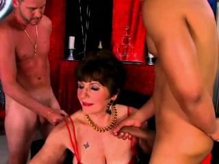 Busty cougars get fucked hard