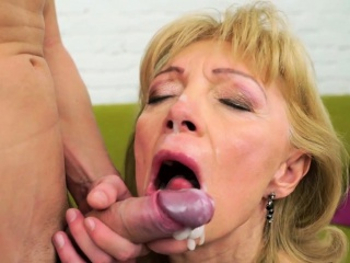 Kinky grandma gets fucked