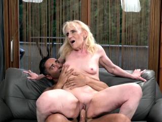 Big Hard Cock for Granny