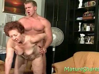 hunk fucking 73yo granny slut