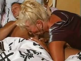 When a granny slut is willing to do anything