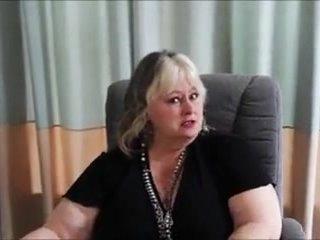 Big Sexy Grandma In The Office