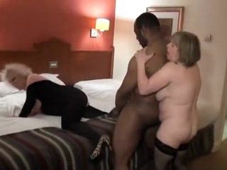 Exotic amateur BBW, Threesomes xxx video
