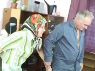 Grandma and grandpa having sex