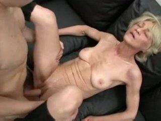 Horny Insatiable Granny Is A Total Cum Slut !
