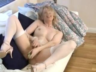 Cucumber mature housewife fuck