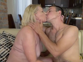 Grannies love fucking too, just like this one