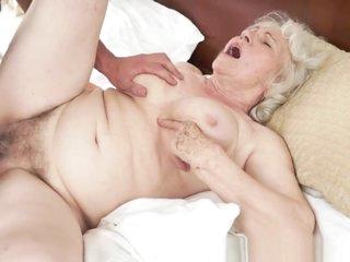 Saggy Grandma With Bigtits Gets Fucked Hard
