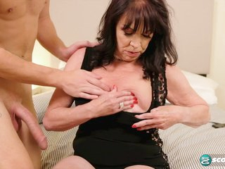 Christina fucks her grandson's friend - 60PlusMilfs