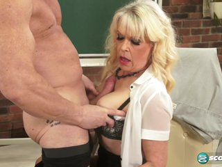 Hot for teacher - 60PlusMilfs