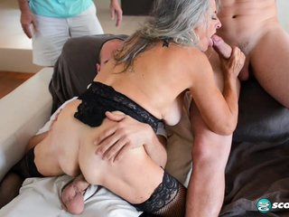 Three-way humiliation - 60PlusMilfs