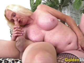 Golden Slut - Blonde Mature Beauties Blowjob Compilation Part 3