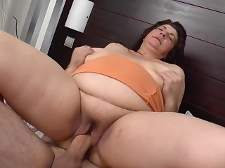 Morning sex with mature