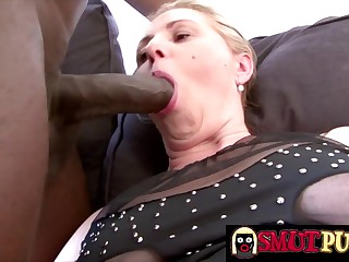 Smut Puppet - Matures Show off Their BBC Sucking Skills Compilation Part 5