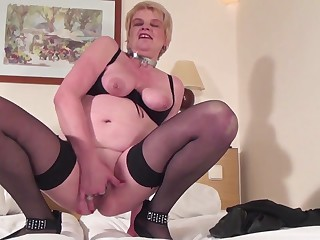 Old but still hot dirty granny