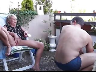 Best Granny, Outdoor porn clip