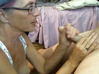 Grandpa cum inside grandma
