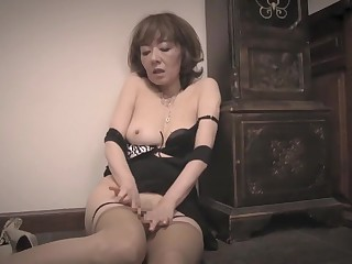Crazy Japanese girl in Best Fetish, Granny JAV video