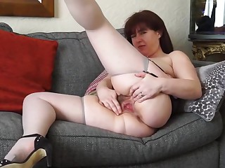 Hairy mature mother waiting for your cock