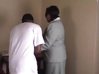 Ebony 60yr old BBW Granny gets Fucked Good