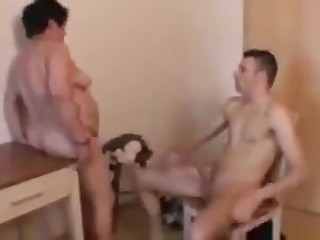 Grandson fuck grandma hot