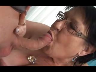 Young Man Seduces Grandma