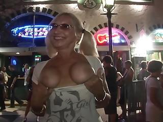 Fabulous pornstar in horny big tits, striptease porn clip