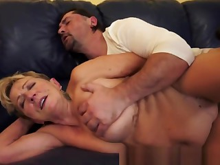 Chubby Grandma Pussyfucked Passionately