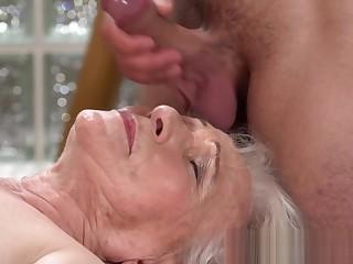 Granny gets fucked hard