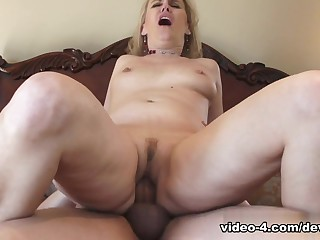 Best pornstar Emerald Rose in Incredible Blonde, Grannies sex video