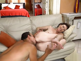 This hot granny cougar loves hardcore sex