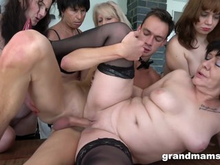 Grand Mams - Horny Grandmams And Toyboys - Part 3