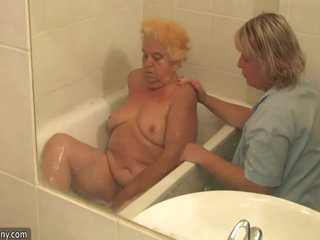 Granny And Mature Masturbated Hairy Pussy 8 Min