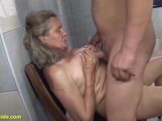 Busty Granny Rough Fucked