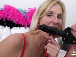 Two Busty Mature Lesbians Play Hot Games